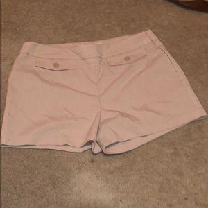 Khaki dress shorts